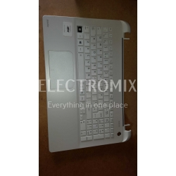 TOSHIBA SATELLITE L50-B top cover with keyboard A000300940 UK  white EL1245 H1