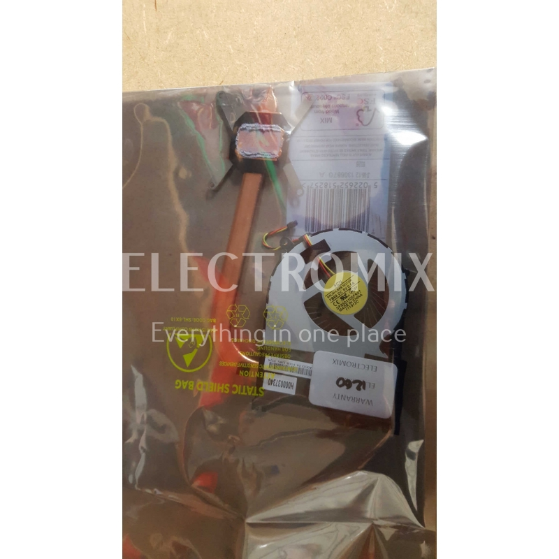 TOSHIBA SATELLITE C855-1TV THERMAL MODULE FAN H000037340 EL1260 I1
