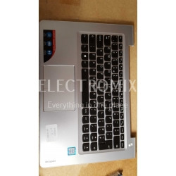 LENOVO IDEA PAD SILVER TOP COVER WITH KEYBOARD UK EL1278 J1