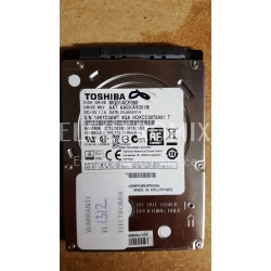TOSHIBA HDD MQ01ACF050 500GB SATA 3GB/S 2.5IN 16MB 7200RPM 7MM EL1312 J4