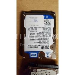 WESTERN DIGITAL WD 320GB HDD WD3200BEVT SATA EL1316 J4