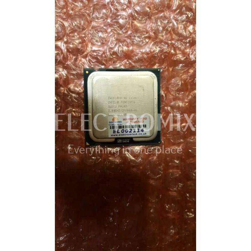 INTEL PENTIUM DUAL CORE E5500 SLGTJ 2.8GHZ  Socket 775 (LGA775) EL2114 CP1