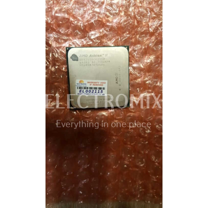 AMD Athlon II X2 245 Regor Dual-Core 2.9 GHz Socket AM3 5W ADX2450CK23GM EL2115 CP1