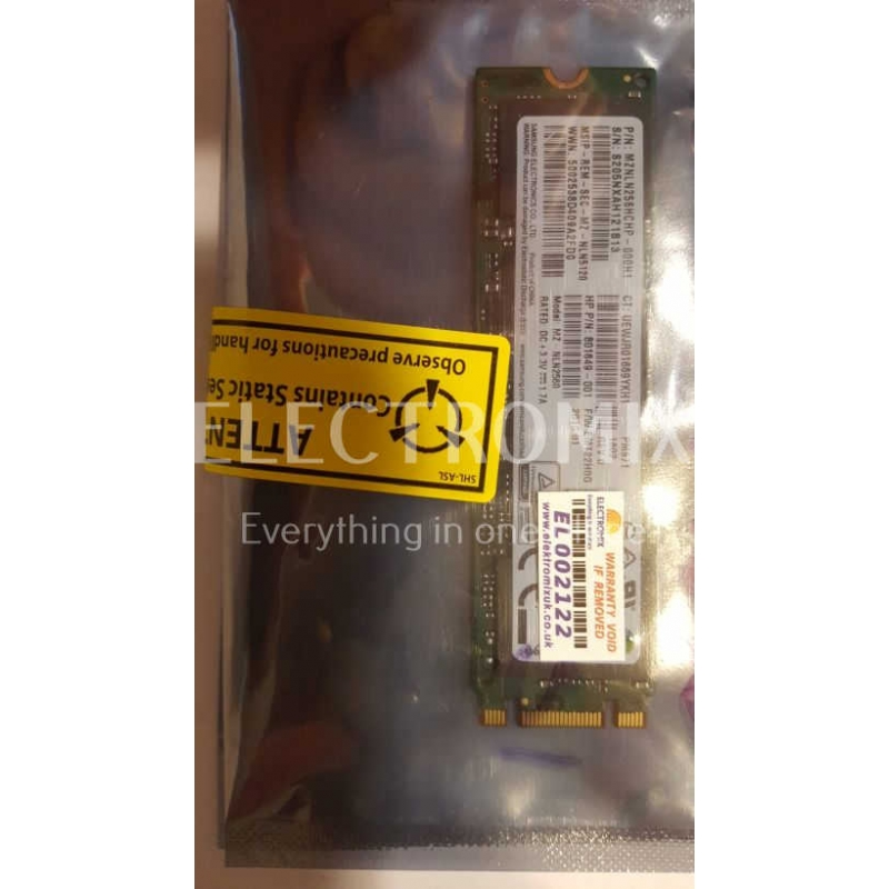 SAMSUNG SSD M2 MZNLN256HCHP 256GB EL2122 S4