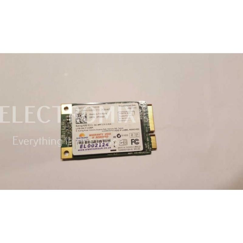 LIte On It 64GB mSATA SSD Drive LMT-64M6M EL2124 SM1