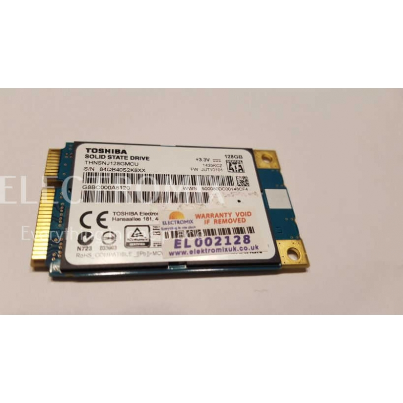 Toshiba HG6 mSATA SSD 128GB THNSNJ128GMCU mSATA 6Gb/s EL2128 SM1