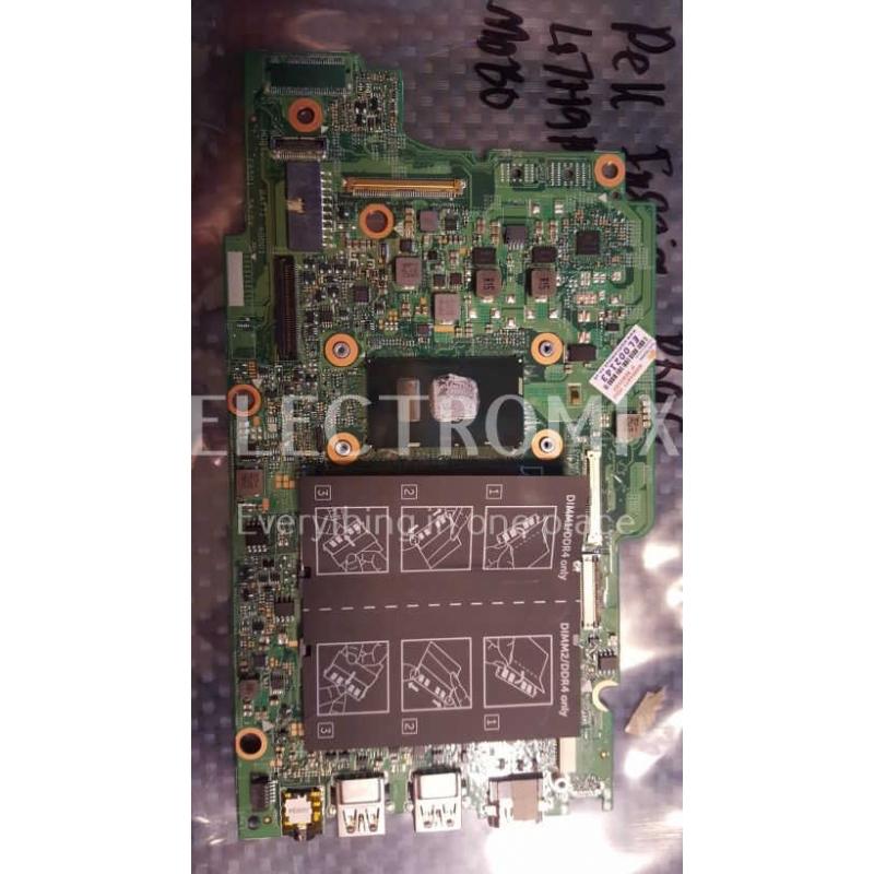 DELL INSPIRON P69G MAIN BOARD  0PG0MH 27221834 VER 1B EL2143 L3