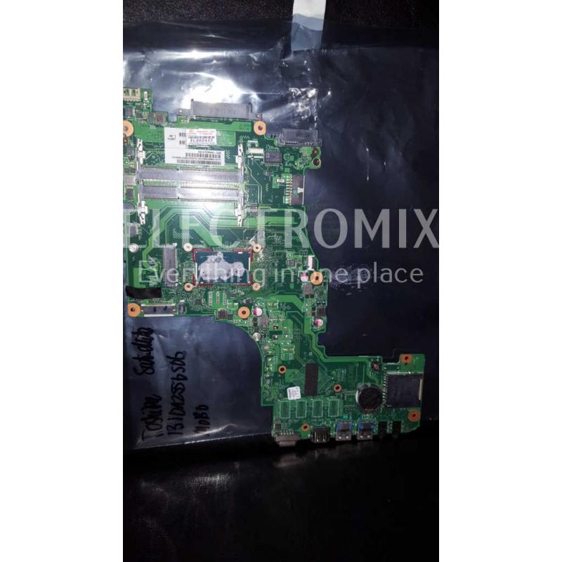 Toshiba Satellite L50T-A-131 main board CPU i5-4200U V000318200 EL2427 S1