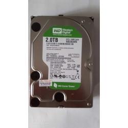 """Western Digital WD20EARX-00PASB0 2TB SATA 3.5"""" Hard Drive EL2498 SM6"""