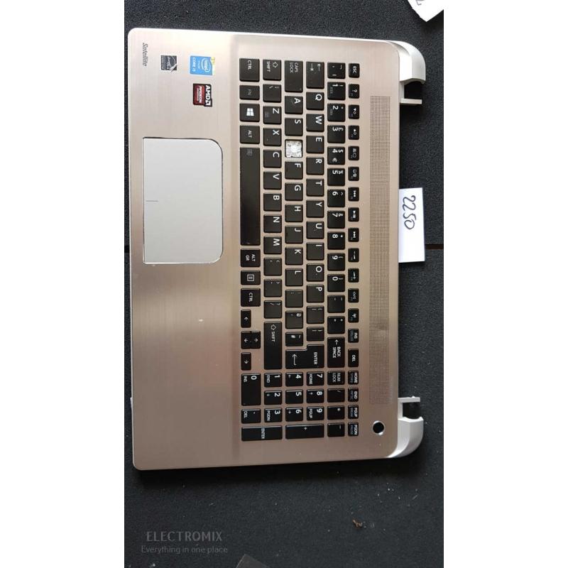 Toshiba Satellite S50 Touch Pad Palmrest Silver A000296840 EL2250