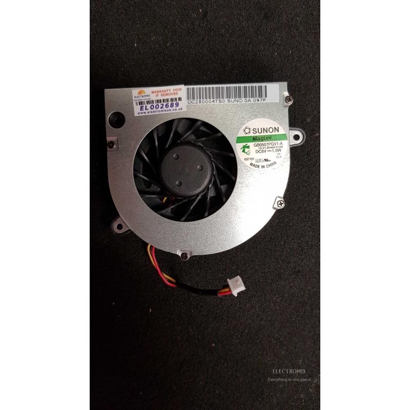 Toshiba Satellite L500 cooling fan DC280004TS0 GB0507PGV1-A EL2689 S8
