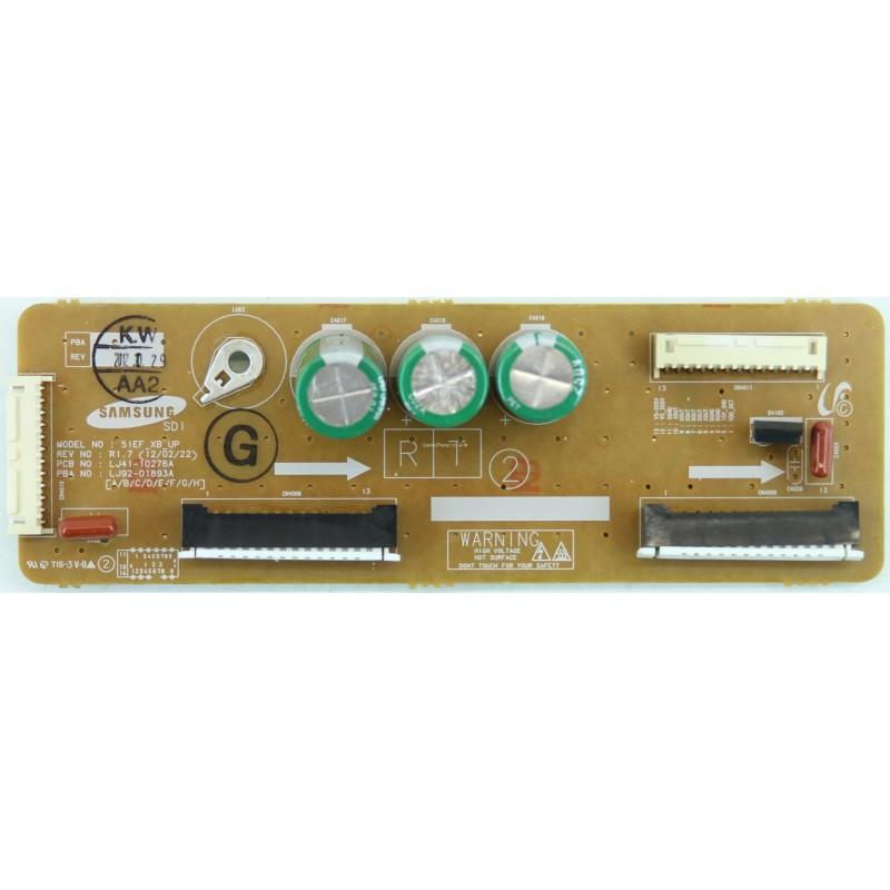 SAMSUNG PS51E550D1KXXU X-BUFFER UP LJ41-10276A LJ92-01893A REV1.7 12.02.22 EL0769 C1
