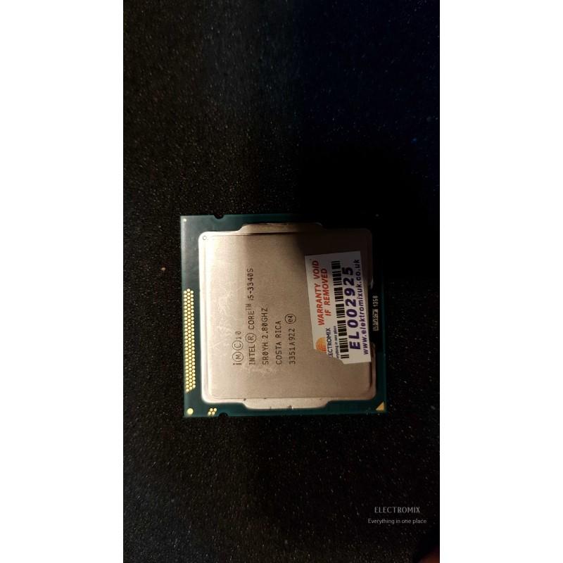 INTEL CPU i5-3340S LGA1155 SR0YH 2.80GHz  EL2925 CP1