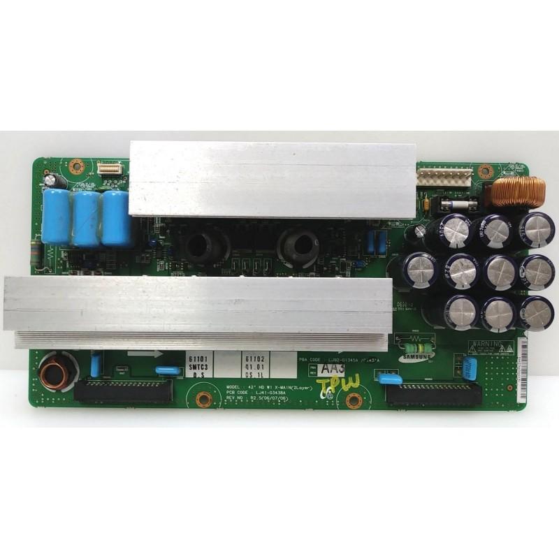 SAMSUNG PS-42Q7HDXXEU X-MAIN LJ41-03438A LJ92-01345A REV2.5 06.07.06 EL0755 E5