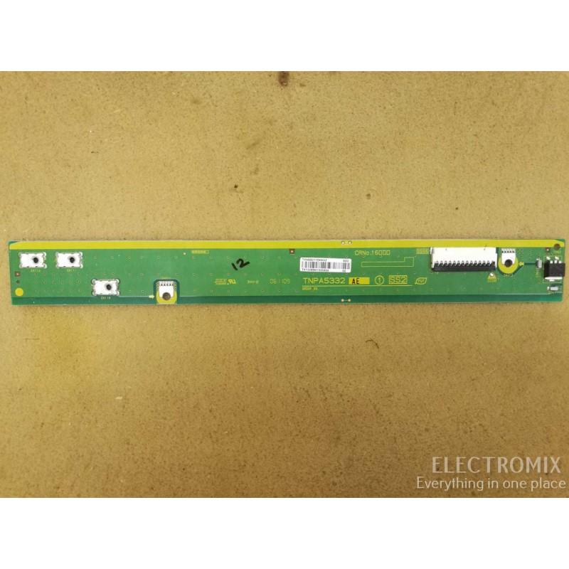 PANASONIC TX-P42ST31B BUFFER BOARD TNPA5332 AE 1 SS2 TXNSS211DHK42 EL0802 E3
