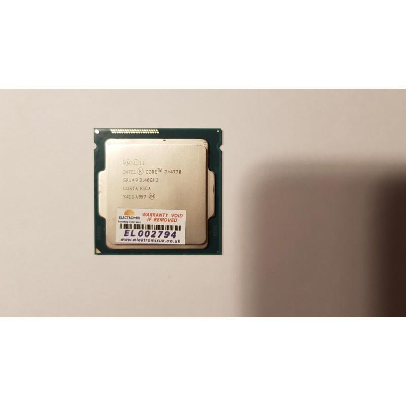INTEL CPU i7-4770 LGA1150 SR149 3.40GHz  EL2794 CP1