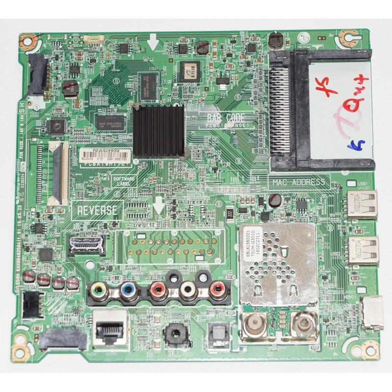 LG 49LF590VZABEKYLJP MAIN BOARD EAX66482504 REV 1.0 15.03.23 EL1083 G3